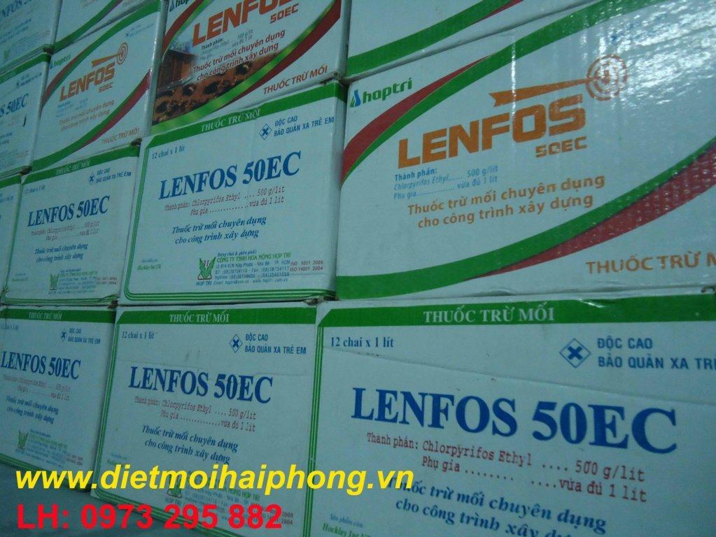 thuốc Lenfos diệt mối tại hải dương