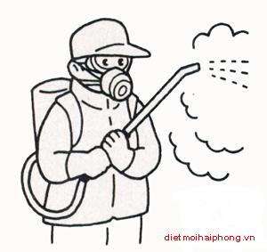 Phun muỗi tại Hải Phòng